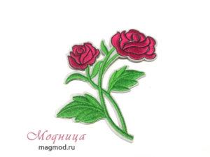 Термоаппликация Розы ектеринбург модница