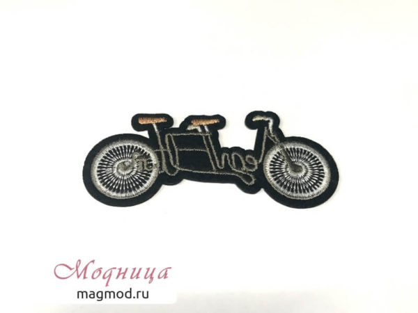 Термоаппликация Мотоцикл стиль мода декор модница