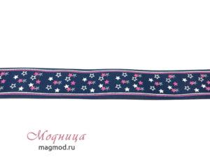 Лента репсовая с рисунком дизайн декор фурнитура магазин модница