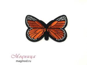 Термоаппликация Бабочка декоративные элементы модница екатеринбург