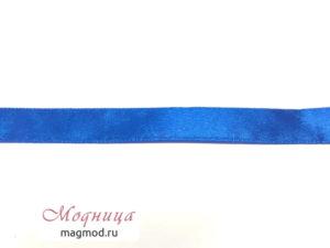 Лента атласная 1,2 см декор фурнитура модница екатеринбург