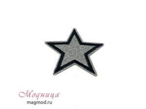 Термоаппликация Звезда декор дизайн фурнитура модница екатеринбург