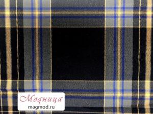 Костюмная Клетка мода ткани стиль одежда модница екатеринбург