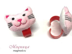 Игольница на руку Кошка рукоделие модница екатеринбург
