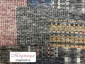 Трикотаж Меланж Люрекс ткани опт розница модница екатеринбург