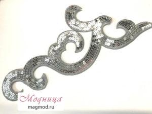 Термоаппликация вензель декор красота дизайн модница