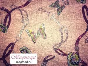 Трикотаж Меланж Люрекс ткани одежда опт розница екатеринбург модница