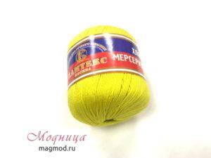 Пряжа Хлопок мерсеризованный рукоделие вязание магазин модница екатеринбург