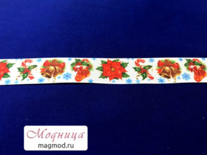Лента репсовая с рисунком декор дизайн фурнитура опт розница екатеринбург модница