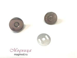 Кнопка магнитная для одежды металлическая пришивная купить екатеринбург магазин модница