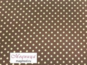 Джинс стрейч Горох ткани дизайн одежда магазин модница купить екатеринбург