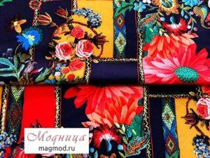 Вискоза софт стрейч Ангелина 150 см ткани дизайн одежда магазин модница екатеринбург