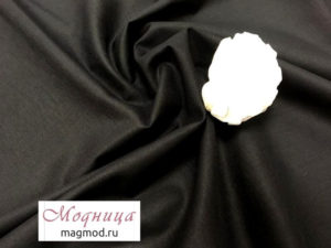 Ситец черный 150 см хлопок ткани опт розница екатеринбург модница