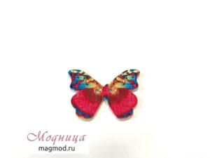 Пуговицы Бабочка фурнитура опт розница екатеринбург магазин модница