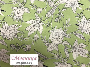 Вискоза набивная 150 см ткани дизайн одежда магазин модница екатеринбург
