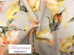 Вискоза софт Эскада 150 см ткани дизайн одежда магазин модница екатеринбург