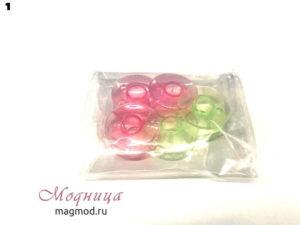 Шпулька пластмассовая Зингер цветная фурнитура для швейных машин модница екатеринбург