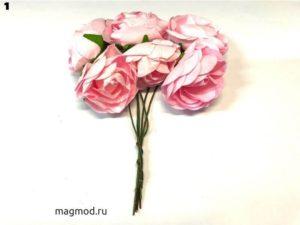 Цветы бумажные декор дизайн рукоделие магазин модница купить екатеринбург