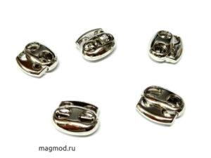 Фиксатор для шнура металлический фурнитура модница екатеринбург