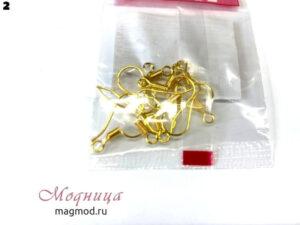 Металлические швензы для бисера (10 шт) фурнитура для бижутерии рукоделие творчество модница екатеринбург